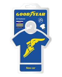 Ароматизатор на зеркало GoodYear T-shirt Original новая машина (GY001404)